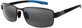 Maui Jim Gunmetal & Blue Kona Winds Polarized Square Sunglasses