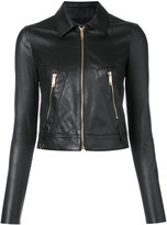 Jitrois cropped jacket - women - Lamb Skin - 36