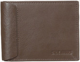 Steve Madden Mocha Leather Passcase Wallet