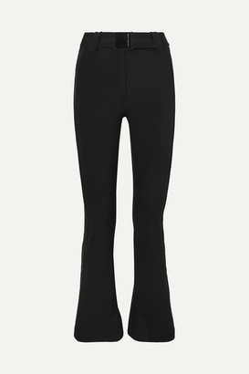 Pippa Goldbergh Belted Bootcut Ski Pants - Black