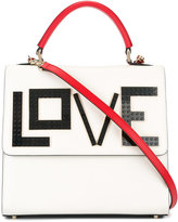 Les Petits Joueurs love patch tote - women - Leather - One Size