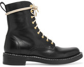 Rag & Bone Emil Lace-Up Leather Ankle Boots