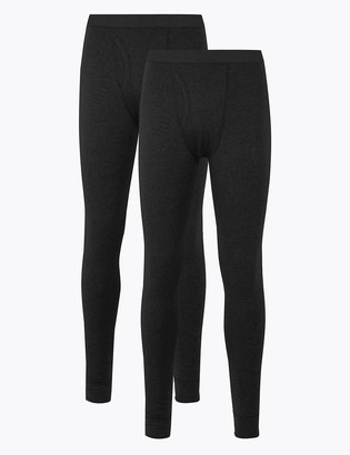 Marks and Spencer 2 Pack Heatgen Cotton Thermal Pants
