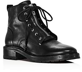 Rag & Bone Women's Cannon Zip-Up Leather Boots