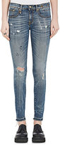 R 13 Women's Allison Crop Skinny Jeans