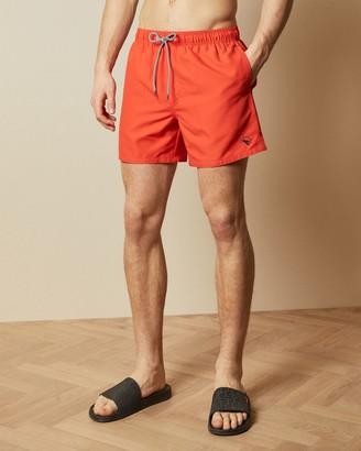 Ted Baker Plain Swim Shorts With Back Pocket