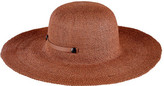 San Diego Hat Company Women's Packable Paper Sun Brim Hat with Tab PBL3079