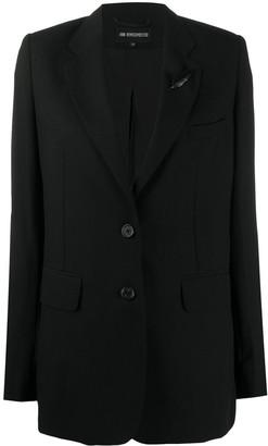 Ann Demeulemeester V-neck boxy fit blazer