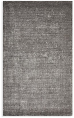 Solo Rugs Lodhi Contemporary Loom Knotted Linen-Blend Area Rug