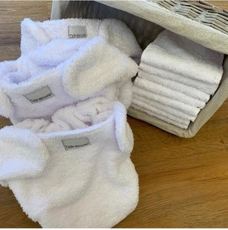 Clair De Lune Five Terry Nappies with 10 Reusable Inserts