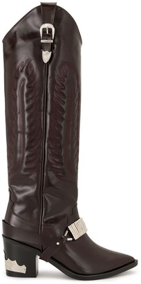 Toga Pulla Over-The-Knee Cowboy Boots