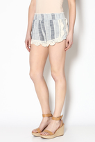 Vintage Havana Blue Woven Shorts