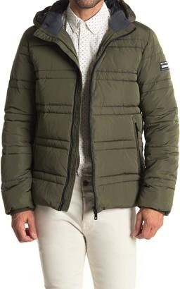 Scotch & Soda Classic Hooded PrimaLoft Jacket