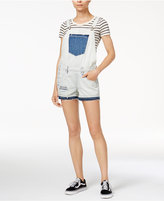 True Religion Cotton Ripped Denim Shortalls