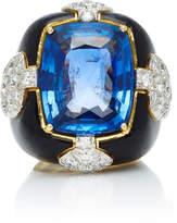 David Webb One-Of-A-Kind Quatrefoil Ring