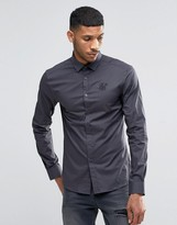 SikSilk Stretch Shirt In Slim Fit