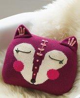 Handknit Fox Pillow