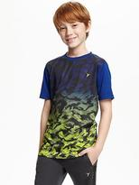 Old Navy Go-Dry Relaxed Train Tee for Boys