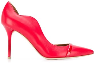Malone Souliers Scalloped Edge Pumps