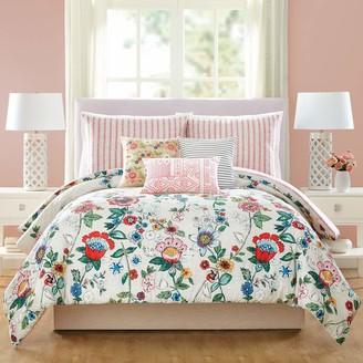 Vera Bradley Coral Floral Comforter Set King
