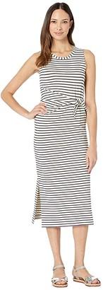 Vineyard Vines Stripe Knit Maxi (Deep Bay) Women's Clothing