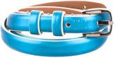 Jil Sander Metallic Leather Belt