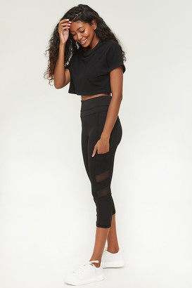 Ardene High Waist Cropped Leggings
