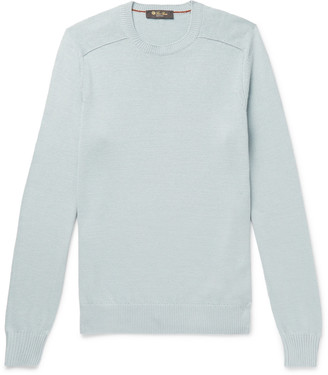 Loro Piana Cotton And Silk-Blend Sweater