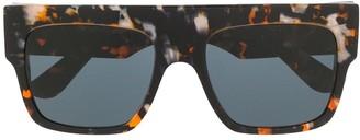 Emmanuelle Khanh Tortoiseshell Aviator Sunglasses
