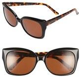 Ted Baker 'Hi Dimension' 55mm Cat Eye Sunglasses