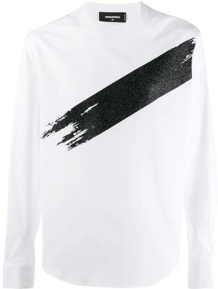 DSQUARED2 long shirt sleeved T-shirt