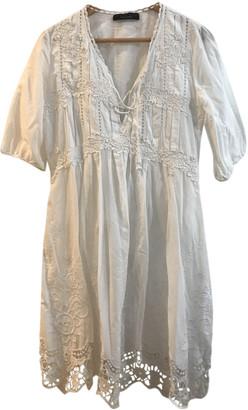 Twin-Set Twin Set White Cotton Dresses