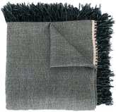 Isabel Marant fringed trim knitted scarf - women - Wool/Cashmere - One Size
