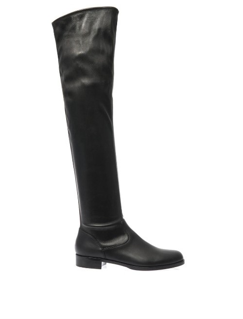 Gianvito Rossi Sloan knee-high pull-on boots