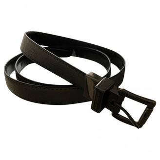 Michael Kors Silver Leather Belts