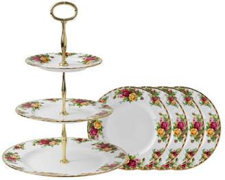 Royal Albert Cake Plate Set