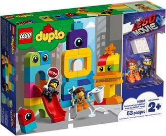 Lego Duplo The Movie 2 Emmet Lucy's Visitors from the DUPLO Planet 10895