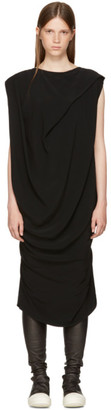 Rick Owens Black Nouveau Dress