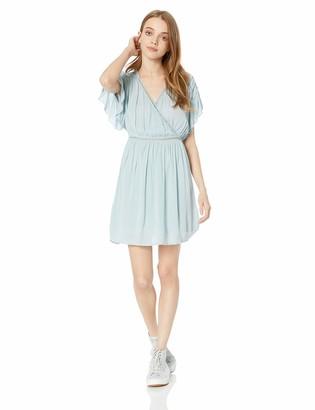 O'Neill Women's Rocio Short Sleeve Dress with Hi Lo Hem