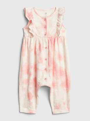 Gap Baby Ruffle Button-Front One-Piece