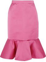 J.Crew Dante Ruffled Duchesse-satin Skirt - Pink