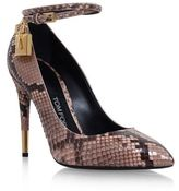 Tom Ford Snakeskin Court Shoes