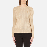 Polo Ralph Lauren Women's Julianna Jumper Natural