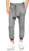 Casely-Hayford Hottam Shirt Tie Waist Pants