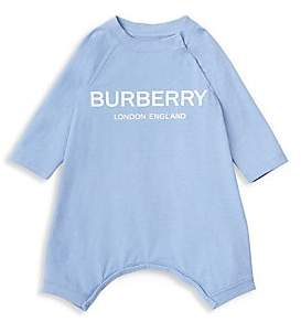 Burberry Baby Boy's Maemae Four-Piece Bodysuit, Hat, Bib & Pouch Set