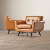 Corrigan Studio Saginaw Leather Arm Chair