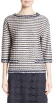 St. John Women's Vany Tweed Knit Top