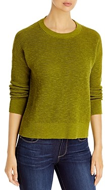 Eileen Fisher Organic Linen & Cotton Crewneck Sweater