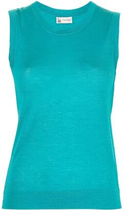 Colombo Silk-Cashmere Blend Fine Knit Vest