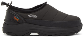 Suicoke Black Pepper Insulated Slip-On Sneakers